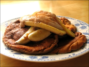 Barley Pancakes, version two