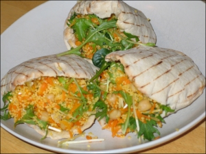 Couscous Salad in Pita